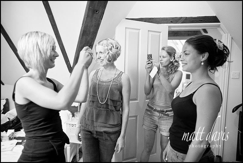 wedding hair photographs