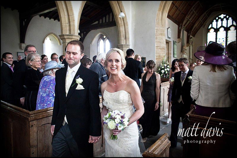 documentary Wedding Photography St Mary's Church, Swerford