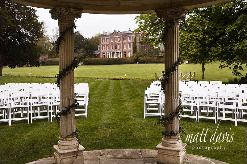 Ardington House outdoor wedding venue