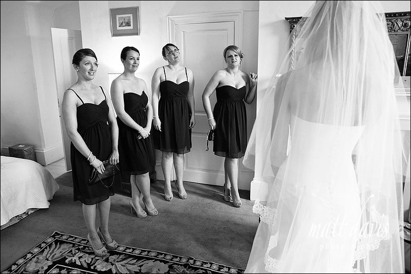 Bridesmaids at Ardington House wedding