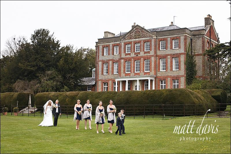 wedding photos at Ardington House