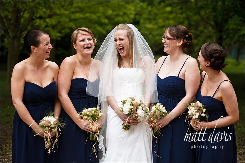 Ardington House group wedding photos