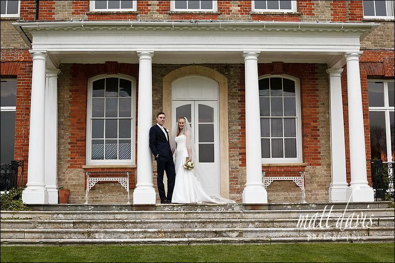 Ardington House wedding photos on steps