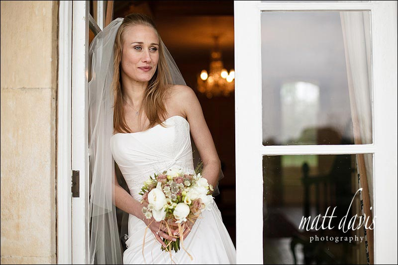 Bride portrait at Ardington House