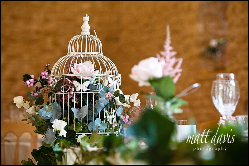 vintage birdcage table decorations for wedding