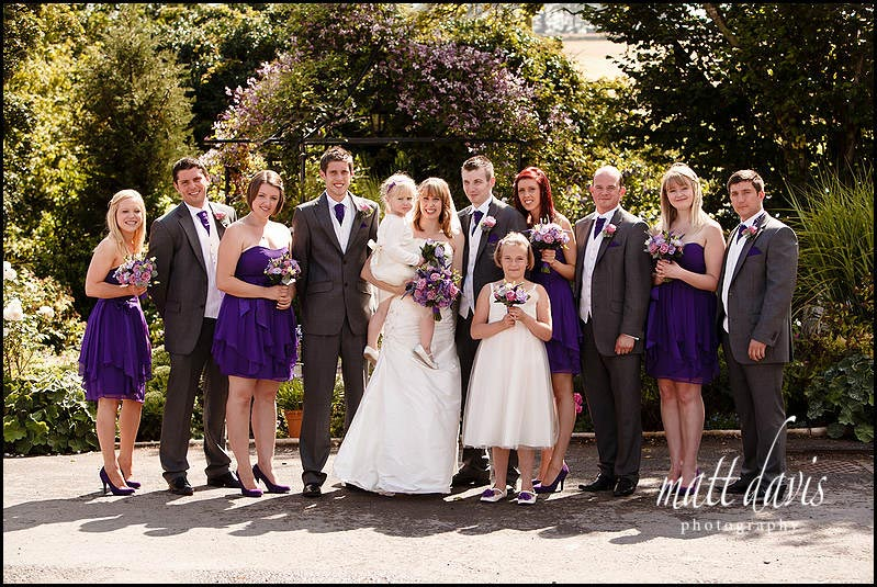 Kingscote Barn wedding group photos