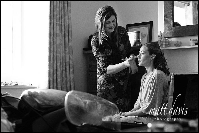 Make up by Clare Bryce of pure pampering