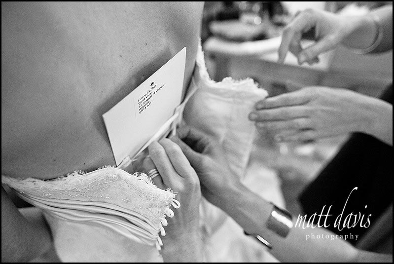 correct fitting template for your wedding dress
