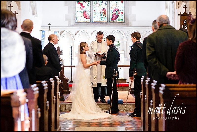 Kington St Michael Church wedding