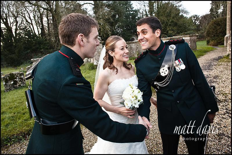 military wedding suit for groom