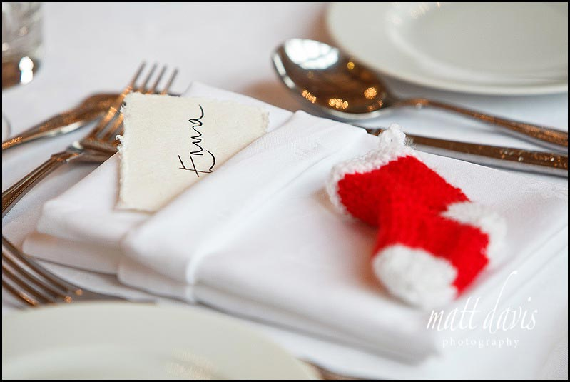 winter wedding place name ideas with festive theme