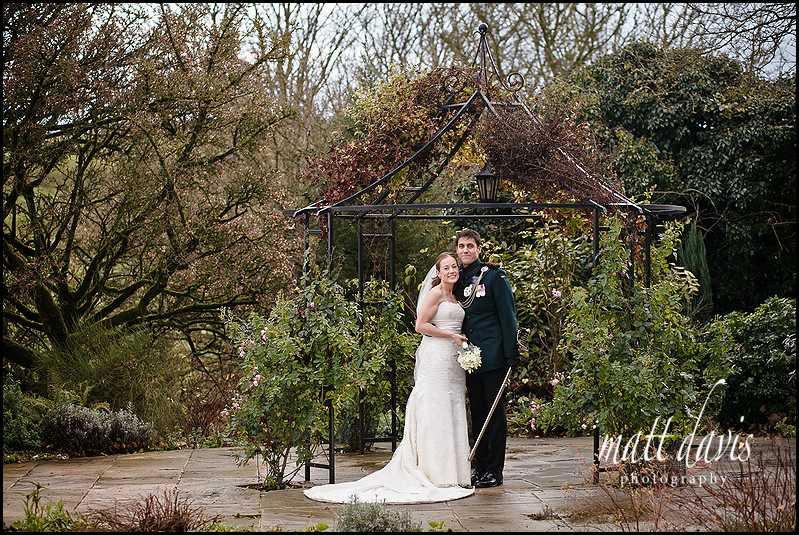 Kingscote Barn winter wedding photos