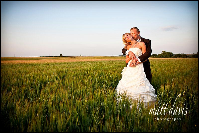 beautiful wedding photography at Kingscote Barn