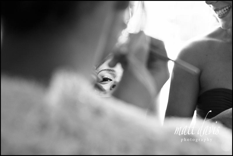 Manor House Hotel wedding photos of bridal preps