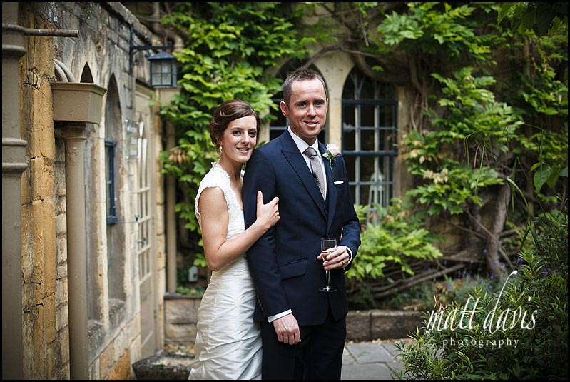 cool Manor House Hotel wedding photos