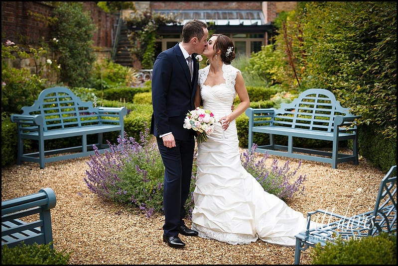 romantic Manor House Hotel wedding photo