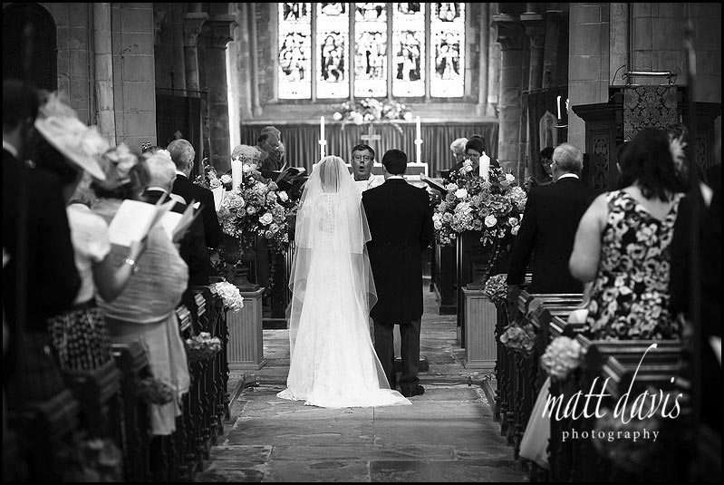 Wedding at Ripple church, Gloucestershire