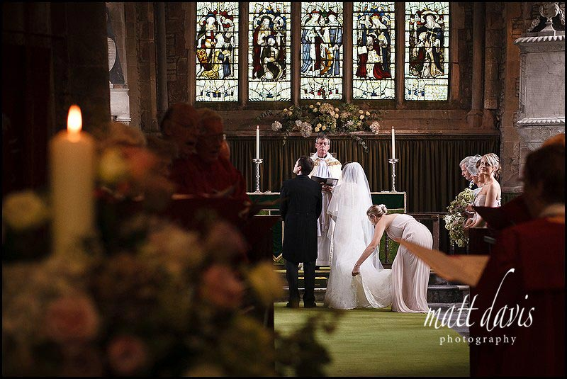 Documentary Wedding Photography in church