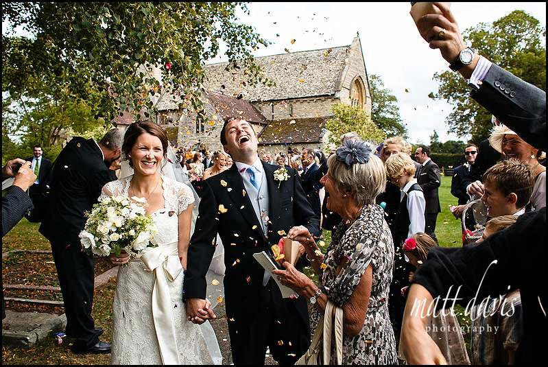 Confetti photo by Matt Davis Photography