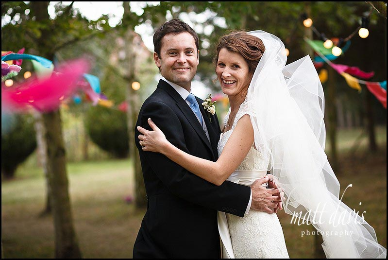 Photo by Matt Davis Photography of wedding couple