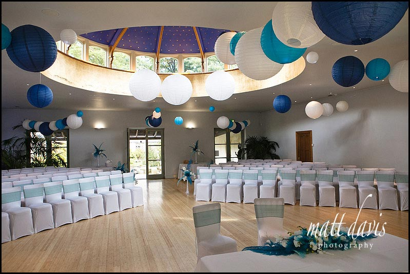 Matara wedding venue inside set for wedding ceremony