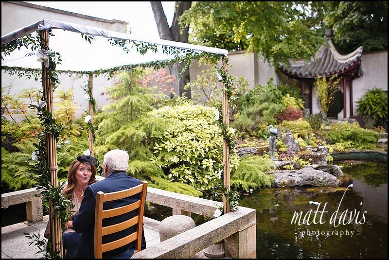 Matara oriental garden and pond