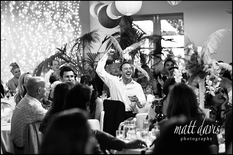 documentary Wedding Photography at Matara during wedding speeches
