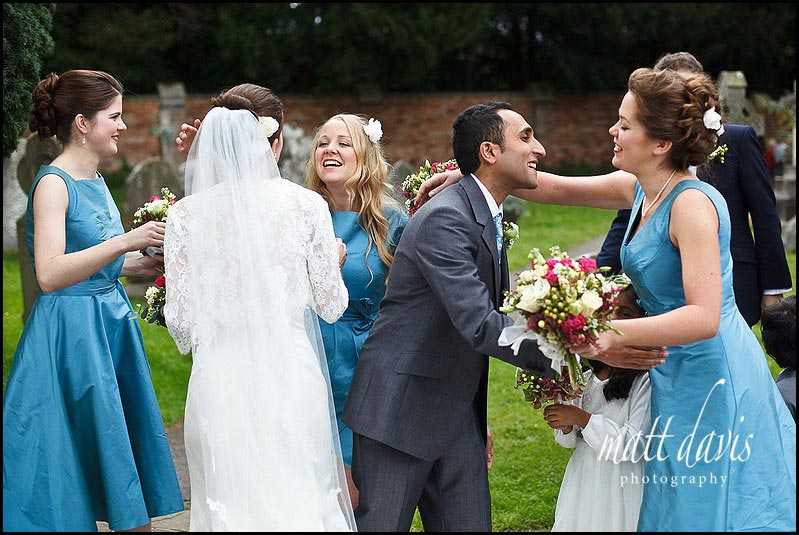 Teal colour bridesmaid dresses