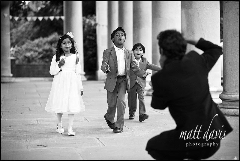 Candid wedding photos at Pittville Pump Room