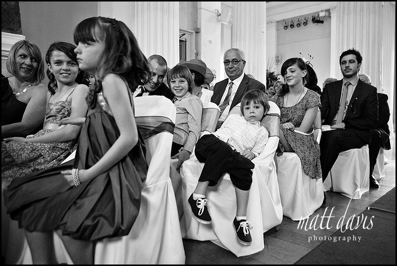 wedding guests Pittville pump room