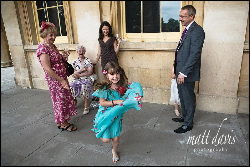 documentary Wedding Photography at Pittville pump room
