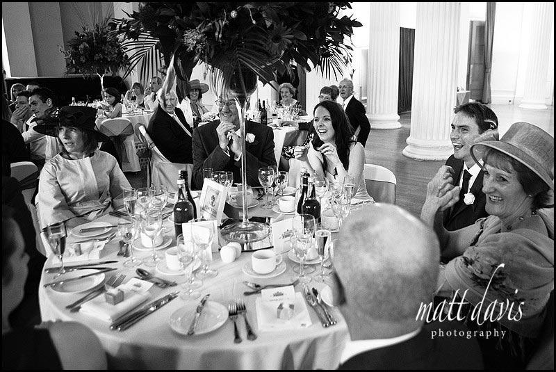 Wedding speeches Pittville pump room