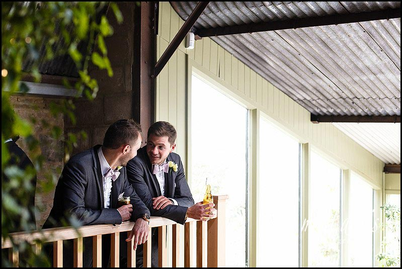 drinks reception at Cripps Stone Barn