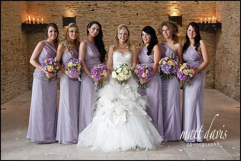 Stone Barn wedding photos of bridesmaids