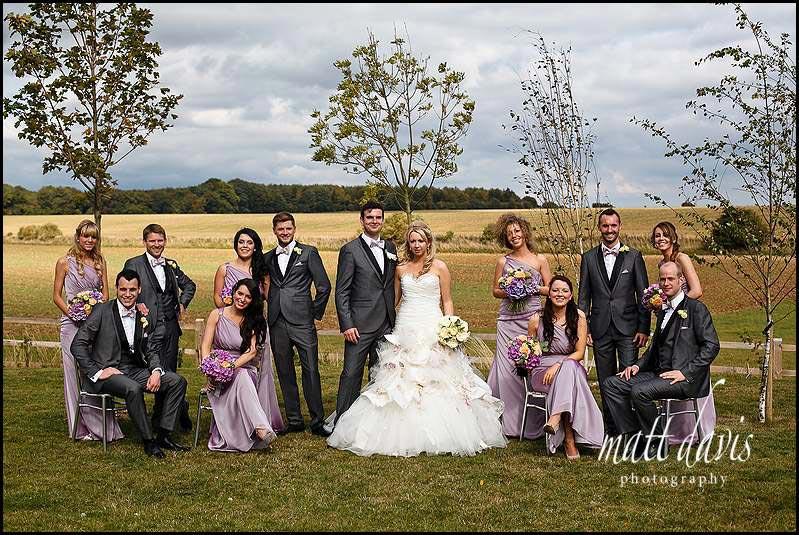 Cripps Stone Barn group wedding photos