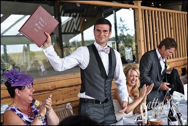 Brilliant wedding speech props