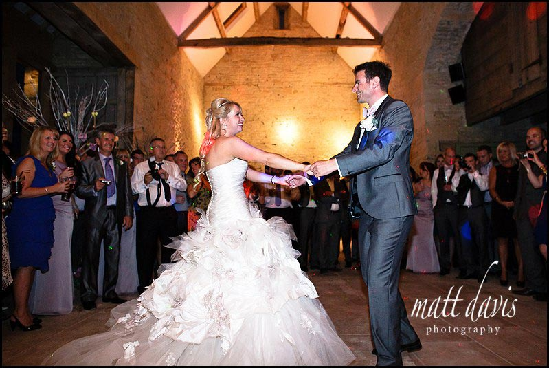 The Dance floor at Cripps Stone Barn