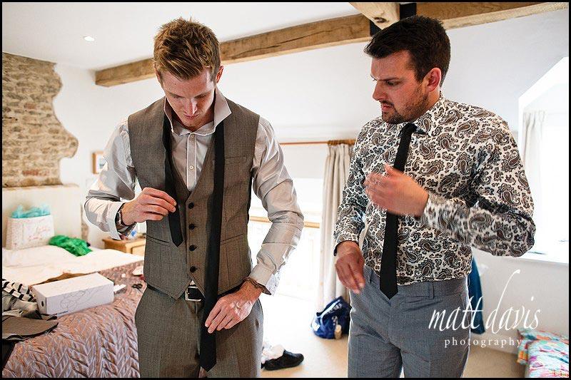 trendy wedding suit for groom