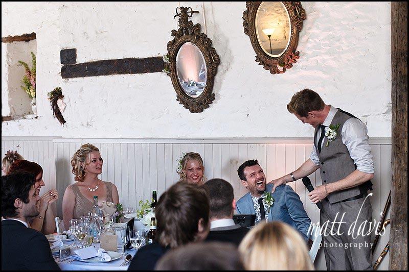 wedding speeches at Friars Court Clanfield