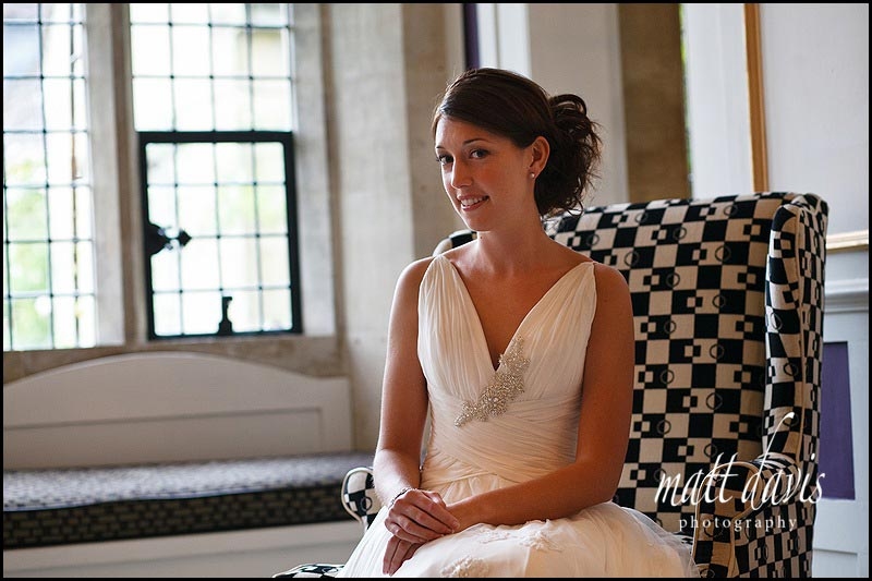 Bridal photos at Cotswolds 88 hotel