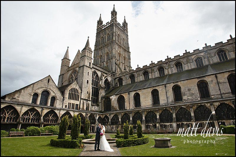 Gloucester Cathedral wedding of Ben & Hannah