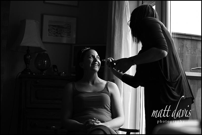 Wedding make-up Gloucestershire