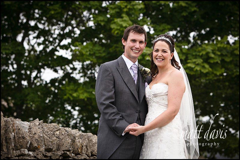 Wedding couple portraits at Stone Barn Aldsworth