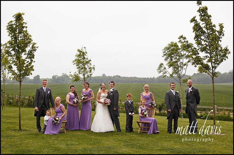 Stone Barn wedding group photos