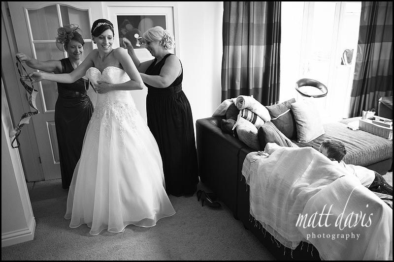 Documentary wedding photographer Matt Davis Photography