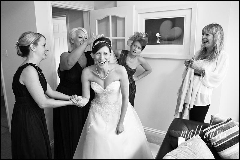 Documentary wedding photography Gloucestershire