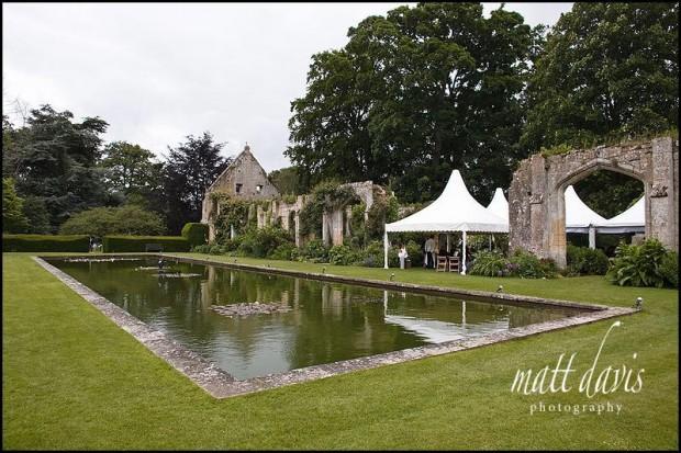 Sudeley Castle Tithe Barn for outdoor wedding