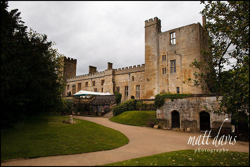 The back of Sudeley Castle