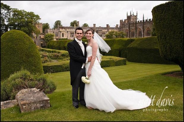 Sudeley Castle wedding photos