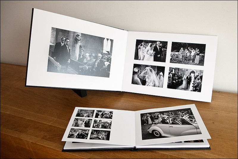 Wedding album options - album design